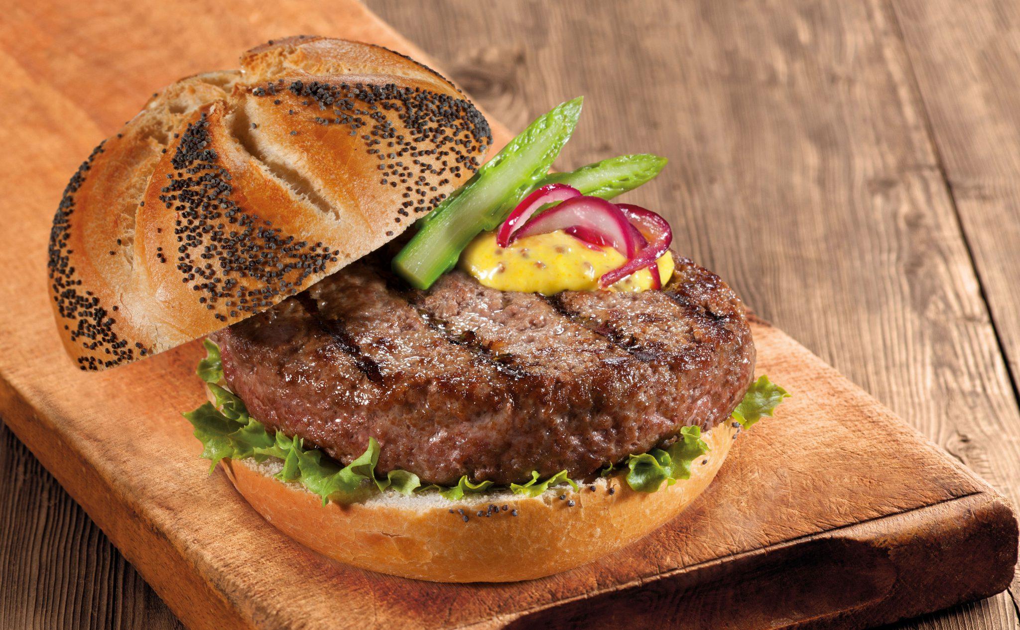 Hamburger gourmet Montana